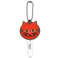 Key Dude - Orange Cat Key Cap With LED Light