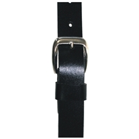 Quality Leather Belt 30mm Medium Full Grain Black