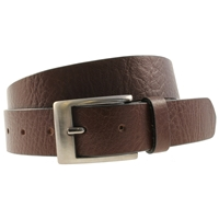 Quality Leather Belt 35mm XX Large Full Grain Brown