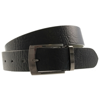 Quality Leather Belt 40mm Large Full Grain Black