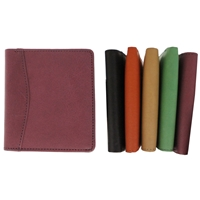 Cowhide Leather Wallet/Credit Card Holder Assorted Colours