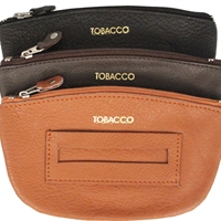 Leather Tobacco Pouch Assorted Colours