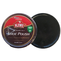 Kiwi Shoe Polish Dark Tan, 50ml Tin