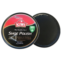 Kiwi Shoe Polish Black, 100ml Tin, Extra Large