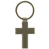 Cross Metal Key Ring