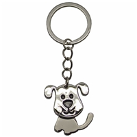 Nodding Dog Metal Key Ring