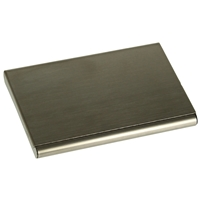 Business Card Case Brushed Stainless Steel