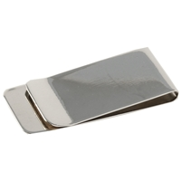 Money Clip Polished Metal in Black Box