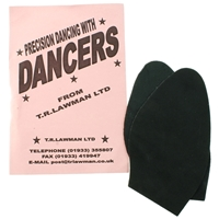 Dancer Soles Ladies Black Soft Suede