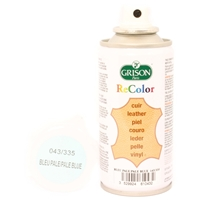 Grison Shoe Colour Aerosol 150ml, Pale Blue 335