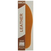 Birch Leather Insoles Ladies One Size
