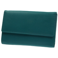 9009 Minerva Compact Purse Teal