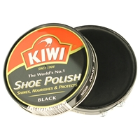 Kiwi Shoe Polish Black 100ml Extra Large Size