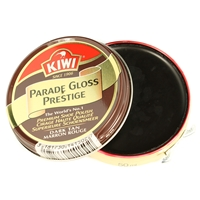 Kiwi Parade Gloss Dark Tan 50ml Premium Wax Shoe Polish