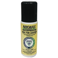 Nikwax WaterProofing Liquid Wax For Leather, Black 125ml