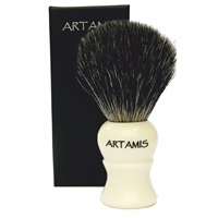 Ivory Shaving Brush Mixed Badger Hair