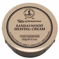 Taylor's Sandalwood Shaving Cream 150g
