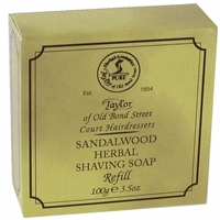 Taylor's Shaving Hard Soap Refill Sandalwood