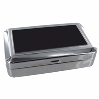 Tobacco Box With Black Lid Plate & Rolling Machine