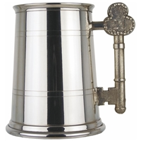 21st Birthday Key Handle One Pint Pewter Tankard