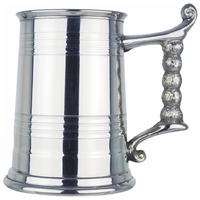 Worcester Design One Pint Pewter Tankard
