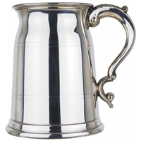 Milk Churn Shape One Pint Pewter Tankard