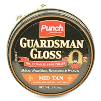 Guardsman Gloss Shoe Polish , Mid Tan 50ml