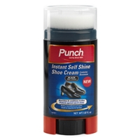 Punch Self Shining Shoe Cream, Black 50ml