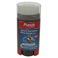 Punch Self Shining Shoe Cream, Brown 50ml