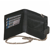 Nappa Wallet With Chain RFID