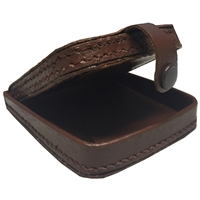 Large Gents Tray Purse With 3.5 x 3.5 Inch