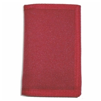 Tri-Fold Canvas Wallet Assorted Colour 5 x 3.5 Inch