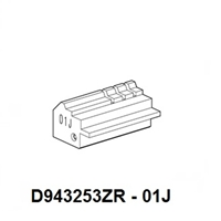 D943253ZR - 01J, Jaw for Futura Code Cutting Machine