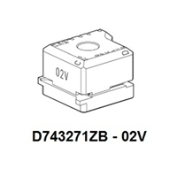 D743271ZB - 02V ASSA Clamp for Futura Code Cutting Machine