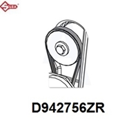 D942601ZR - Flat Belt For Futura Machine