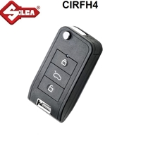 Silca CIRFH4 Remote Car Key (Transponder Included)