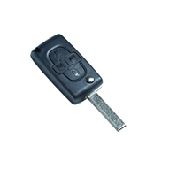 Silca remote shell - HU83CRS7 4 Button Flip Key