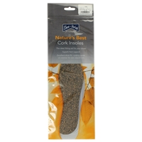 Shoe-String Cork Insoles Gents Size 9