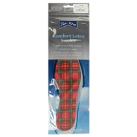 Shoe-String Tartan Insoles - Ladies Size 6