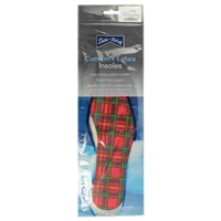 Shoe-String Tartan Insoles Gents Size 12