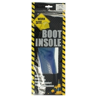 Worksite Gel Insole Insoles Size Small/Medium