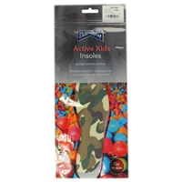 Shoe-String Childs Camoflage Print Insoles, Cut To Size