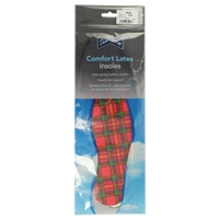 Shoe-String Tartan Insoles - Cut To Size