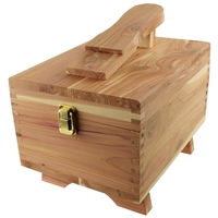 Cedar Wood Shoe Care Box