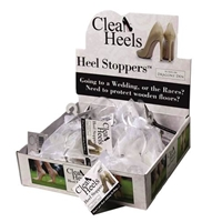 Clean Heels Heel Stoppers (Clear) Mixed Box Of 15