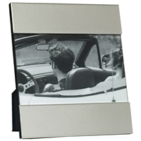 4 X 6 Inch Silver Plated Modern Picture Frame