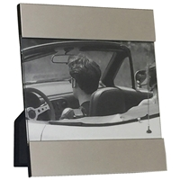 5 X 7 Inch Silver Plated Modern Picture Frame