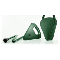 Flipstick Adjustable Foldaway Seat 87.5-91.5cms - Green
