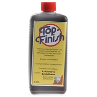 Top Finish Dark Brown Ink 500ml