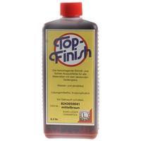 Top Finish Medium Brown Ink 500ml